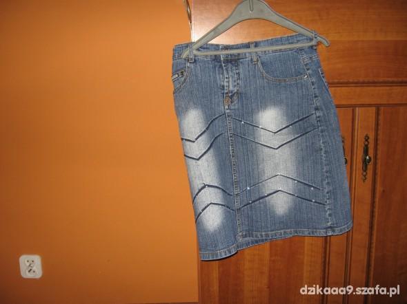 Spódnice dzinsowa spódnica S