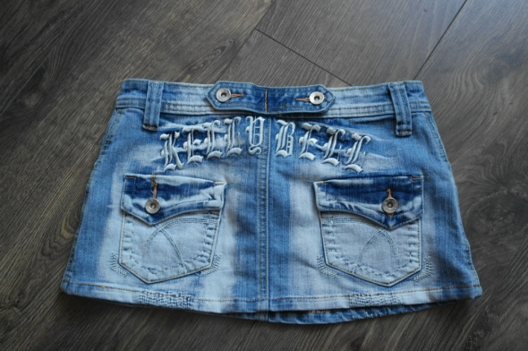 Spódnice Spódnica jeansowa ciemna 36