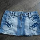 Spódnica jeansowa ciemna 36
