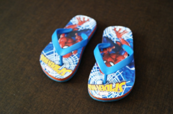 Klapki japonki Spidermann 25