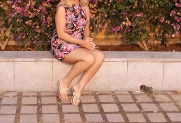 Sukienka w kwiaty New Look rozm M L...