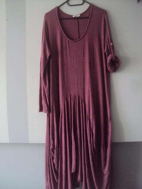 włoska asymetryczna sukienka...