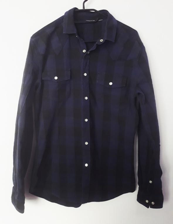 Koszula męska w kratę rozmiar S