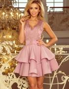 Sukienka Charlotte kolor lila XS SM L...