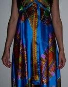 Zwiewna asymetryczna sukienka na lato nowa 34