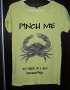 Bawełniana koszulka Sinsay M...