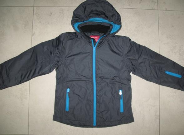 YOUNGSTYLE granatowoniebieska zimowa kurtka dziecięca roz 134