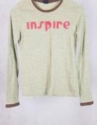 Zielona bluzka cropp M...