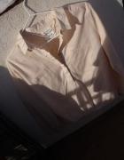 Reserved pudrowa pastelowa elegancka koszula...