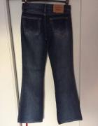 Levisy oryginalne jeansy spodnie wysoki stan Lee...