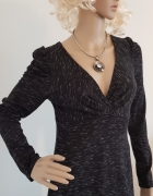 Czarno biała sukienka Vissavi...