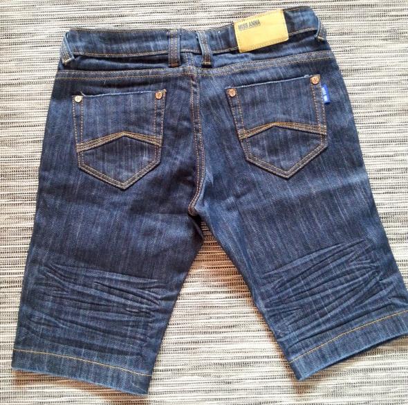 Spodenki Spodenki ciemny jeans do kolan Miss Anna 38