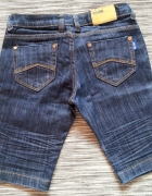 Spodenki ciemny jeans do kolan Miss Anna 38...