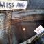 Spodenki ciemny jeans do kolan Miss Anna 38