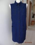 Sukienka Koszulowa Dżinsowa Szmizjerka Dorothy Perkins 44...
