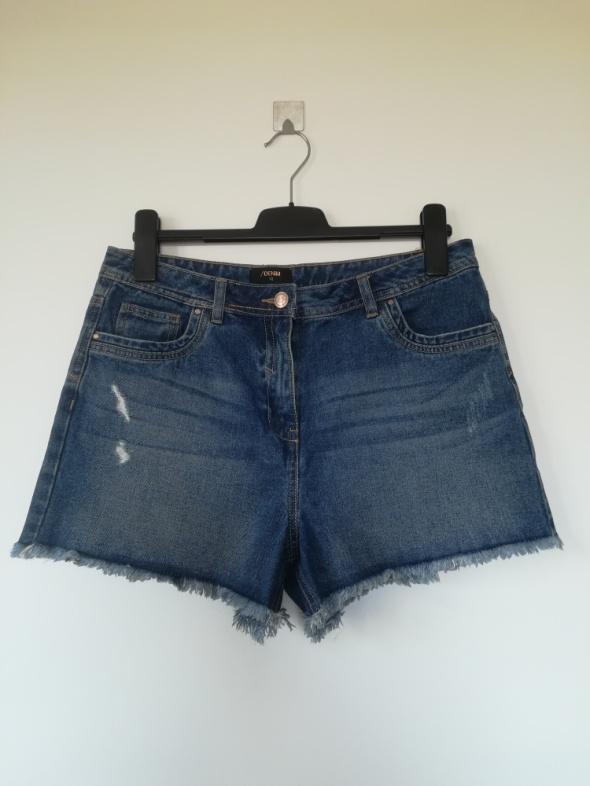 Spodenki Spodenki wysoki stan jeans Denim L XL