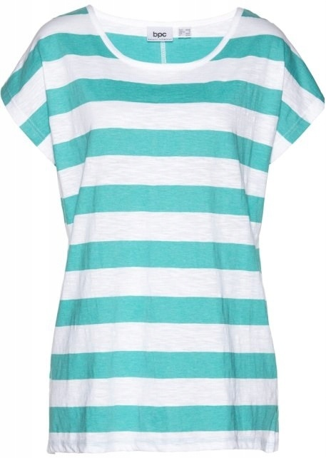 T-shirt Tshirt w miętowe paski