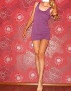 bandażowa sukienka hm