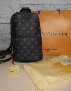 Plecak Worek Torebka torba Louis Vuitton skóra Francja LV