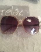Duże okulary przeciwsłoneczne