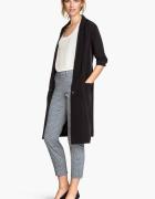 Spodnie H&M 44 XXL 2XL cygaretki garniturowe...