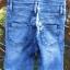 Krótkie spodenki jeansowe ogrodniczka Bershka 34 XS