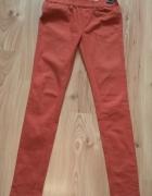 Treginsy spodnie ceglane brązowe S 36...