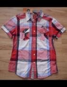 Nowa koszula męska w kratę M