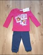 Nowy komplet dziewczęcy Dora 98 nickelodeon...
