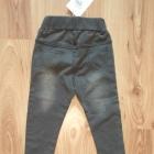 Nowy komplecik dziewczęcy szare spodnie i bluzeczk