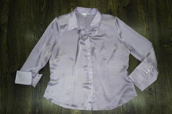 Bluzka wizytowa fioletowa 46 48