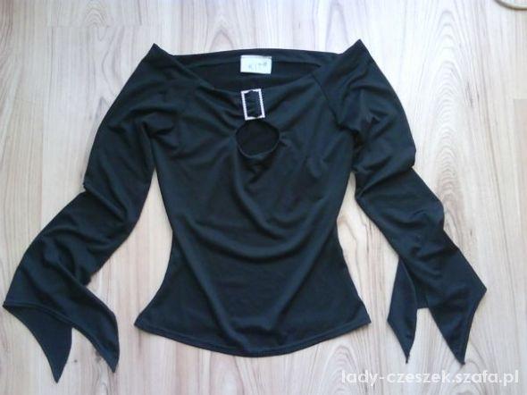 czarna seksowna bluzka damska S M