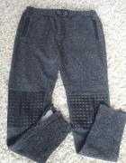 Szare spodnie dresowe 38...