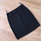 Czarna spódnica klasyczna 36 S