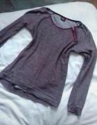 Sweterek fiolet ONLY...