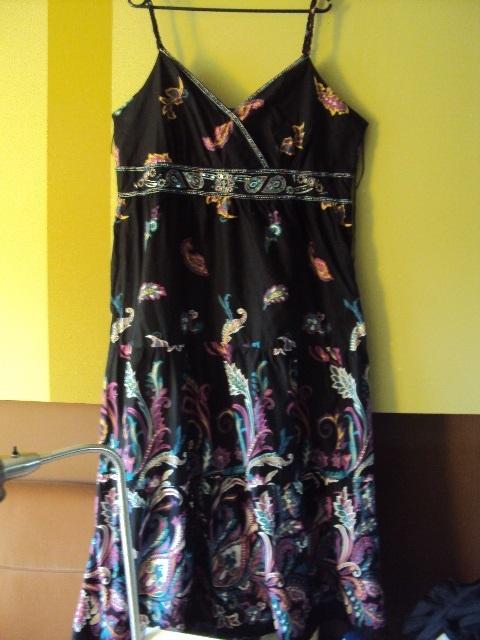 Sukienka maxi w stylu boho