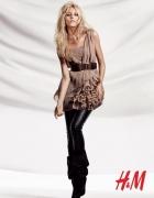 Nowa sukienka H&M Anja Rubik XL 42 falbany gorset...