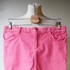 Spódniczka Jeans Dżins Różowa Lindex 40 L Jeansowa