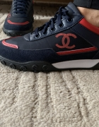 Chanel buty sportowe adidasy logowane...