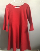 New Look czerwona sukienka 40...