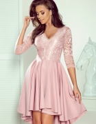 Nicolle sukienka koronka pudrowy róz S M L XL...