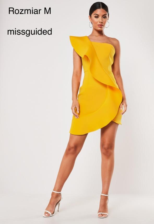 Żółta sukienka mini