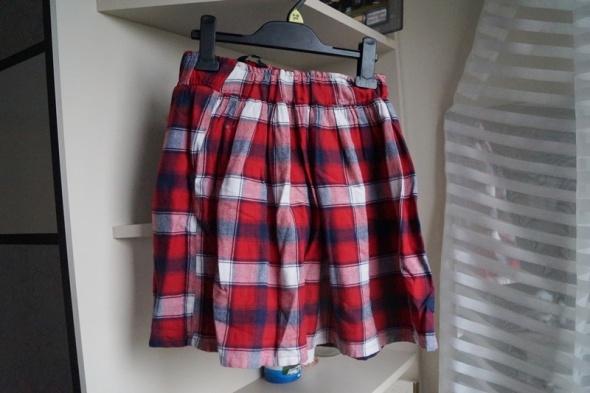 Spódnice Krótka kraciasta spódniczka Papaya S