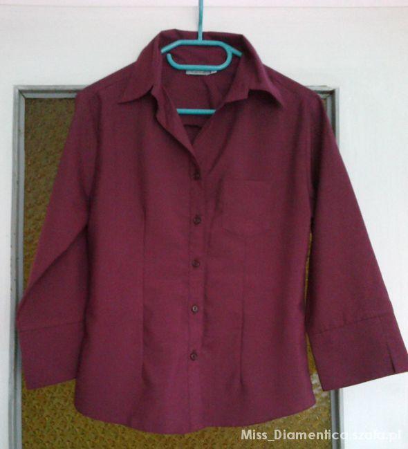 Koszule ŚLICZNA BLUZKA KOSZULOWA M 38