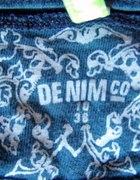 Granatowa koszulka DENIM CO 38...