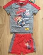 Krótkie spodenki koszulka Piraci z Nibylandii Disney komplet 92...