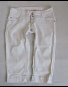 Spodenki jeansowe rybaczki szorty L 40 elastyczne...