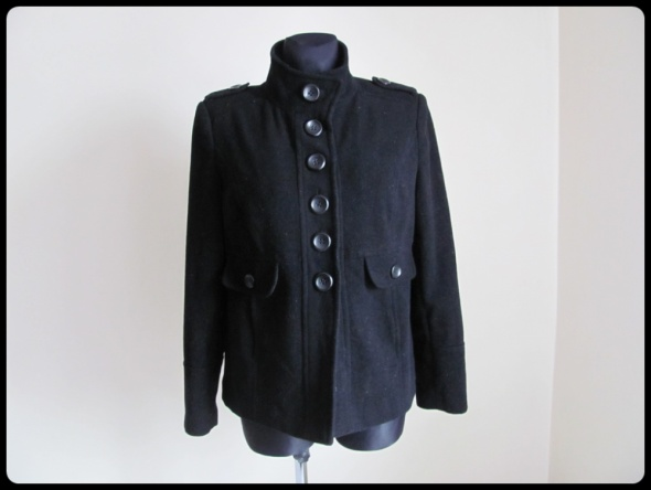 Odzież wierzchnia Wełniana KURTKA krótki płaszcz Dorothy Perkins 42 XL