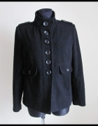 Wełniana KURTKA krótki płaszcz Dorothy Perkins 42 XL...