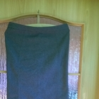 Szara spódnica ołówkowa drapowana Topshop 40 L